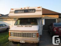 Available for sale 1979 Dodge Motorhome. Has fridge,