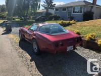 Make Chevrolet Model Corvette Year 1979 Colour Red kms