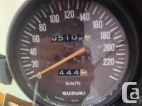 Make Suzuki Year 1979 kms 6000 1979 Suzuki GS750L for