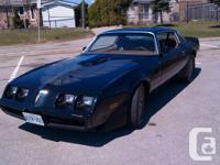 For sale is a clean driver 79 Trans AM Coupe. Body is