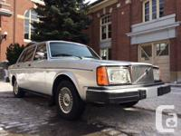 This 79 244GL has only 162,000 kilometers and is in