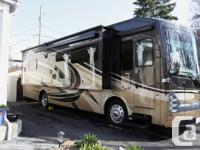 Almost new luxury diesel Thor 34ST motorhome with 360