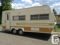 1980 22 ft holiday sleeps 7 fully self contained