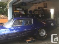 1980 professionally built pro drag car. 468 BBC 13.5:1