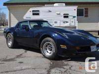 1980 corvette. interior completely redone