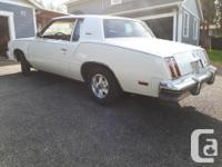 Make Oldsmobile Model Cutlass Supreme Year 1980 Colour