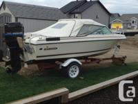 For Sale; 1980 Invader Boat, comes with Calkins