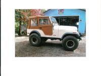 Make Jeep Model YJ Year 1980 Colour White kms 1234