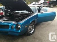 For sale we have an 81 Camaro! Below's the low down.