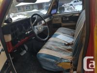 Make Chevrolet Model 2500 Year 1981 Trans Automatic