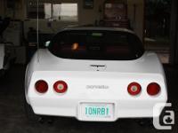 Make Chevrolet Model Corvette Year 1981 Colour White