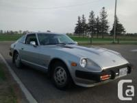 Make Nissan Model 280ZX Year 1981 Colour Silver kms