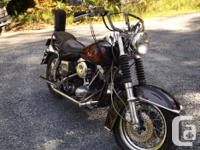 Make Harley Davidson Model Street Year 1981 kms 1111 81