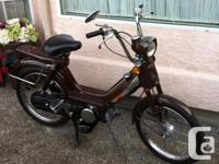 Honda Moped Model PA50 absolutely mint condition. 350
