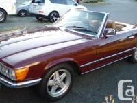 Make Mercedes-Benz Model SL-Class Year 1981 Colour