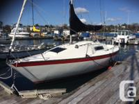 """""""The San Juan 7.7 is a dreamer's boat; fast, stable,"""