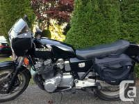 I have a 1981 gs1100 new tires/brakes/fork seals all