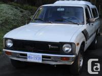1981 Toyota SR5 Pick Up 5 speed standard. .. one owner