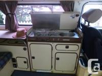Rare '82 Diesel VW camper van (get-a-way van with