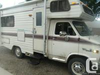 This a 16 foot motorhome and iswell dealt with,