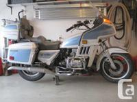 1982 Goldwing Interstate, Excellent problem, Enthusiast