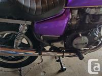 Make Honda Year 1982 kms 39960 Nice example of a