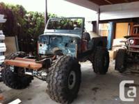 1982 Jeep Cj8 Scrambler, Rust free body, Hard top half