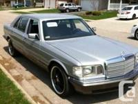 For sale is my 1982 Mercedes-Benz SEL380.  This vehicle