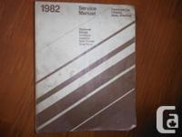 """1982 Solution Handbook Automobile Diplomat, Mirada,"