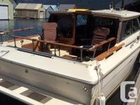 1982 SEARAY: 26 x10´, 2 Mercruiser 140 engines, Eagle
