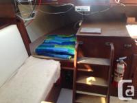 I am selling a 1982 Sunstar 28' sloop for $8000 obo. I