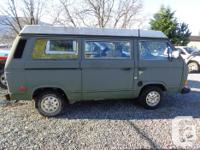 Make. Volkswagen. Model. Vanagon. Year. 1982. Colour.