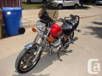 Make Yamaha Year 1982 kms 36104 Awesome bike for