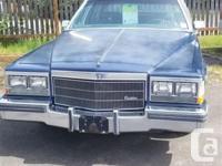 Make Cadillac Model DeVille Year 1983 Colour Blue kms