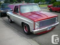 Kamloops, BC 1983 Chevrolet C10 Shortbox Stepside - for sale  British Columbia