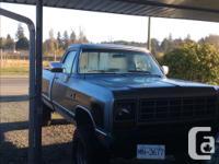 Make Dodge Model 1500 Year 1983 Colour Blue kms 188000