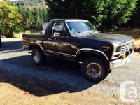 Make Ford Model Bronco Year 1983 Colour Black Trans