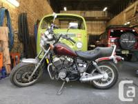 Make Honda Model Shadow Year 1983 kms 8600 1983 Honda