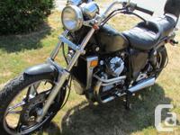Make Honda Year 1983 kms 39000 CX650 Custom imported