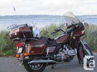 A well maintained and reliable 1100cc touring road