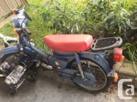 Make Honda Year 1983 kms 19000 Hello, Selling my 1983