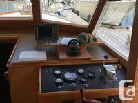 Classic design 32' trawler built by Kong and Halvorsen