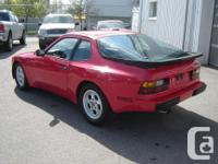Make Porsche Model 944 Year 1983 Colour Red kms 77000