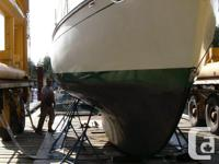 GrayLag, a True North 34, is a full keel cutter