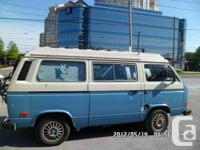 1983.5 VW VANAGON L,  RIVIERA  ASI Model (Pop Top