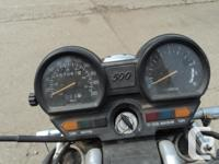 Make Yamaha Year 1983 kms 67067 as is condition