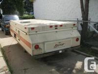 We have 1984 Bonair Tent Trailer for sale sleeps