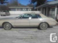 Make Cadillac Model Seville Year 1984 Colour Beige kms