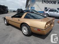 Make Chevrolet Model Corvette Year 1984 Colour Gold for sale  Manitoba