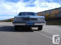 84 EL CAMINO 305 350 Posi, Air Shocks. Automatic,